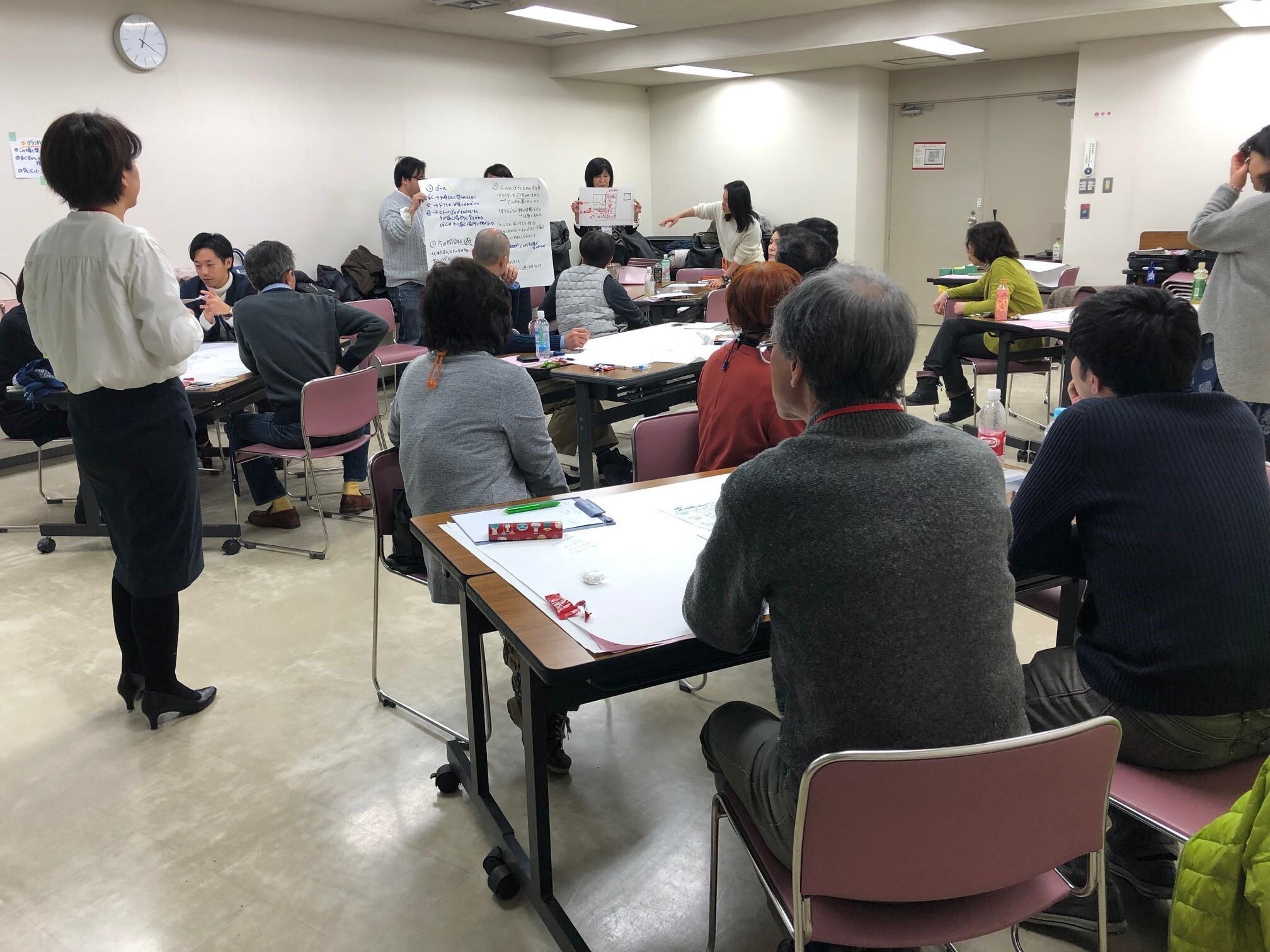 2020年2月15日(土)公開セミナー「ファシリテーション基礎講座」仙台開催